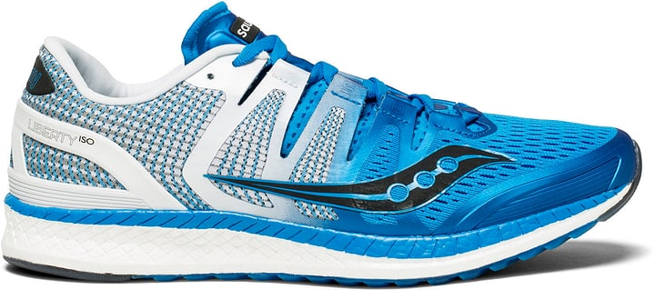 Liberty ISO Chaussures de course pour homme Saucony 463214242540 Couleur bleu Taille 42.5 Photo no. 1