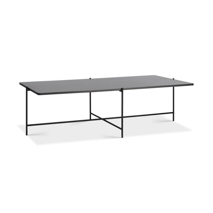 ELLY Tavolino da salotto 362255300000 Colore Nero Dimensioni L: 120.0 cm x P: 70.0 cm x A: 35.0 cm N. figura 1
