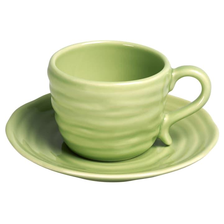 CRAFT Kaffeetasse inkl. Untertasse 440253200000 Farbe Grün Grösse H: 6.3 cm Bild Nr. 1
