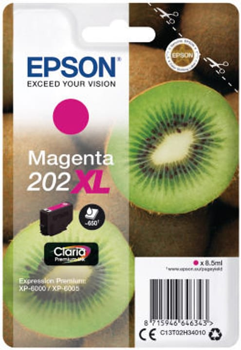 Cartuccia d'inchiostro 202XL magenta Cartuccia d'inchiostro Epson 798549500000 N. figura 1