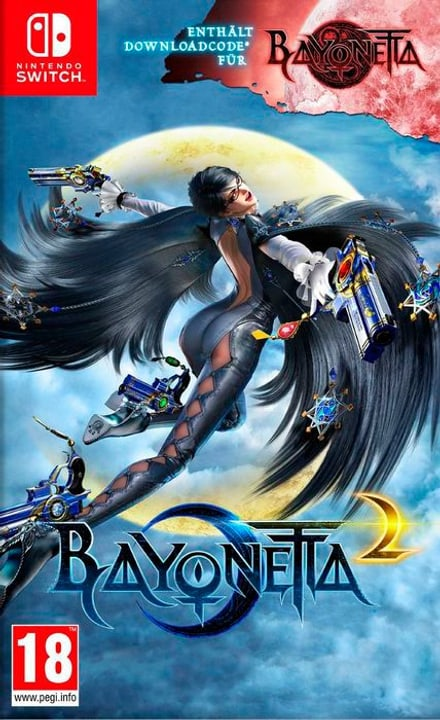 Bayonetta 2 [incl. Bayonetta 1 Codice Download] [NSW] (I) 785300131874 Bild Nr. 1