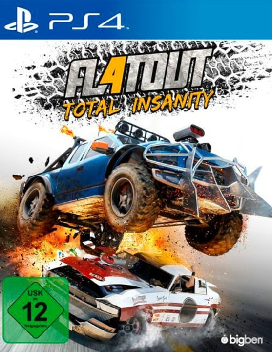 PS4 - Flatout: Total Insanity 785300121657 Photo no. 1