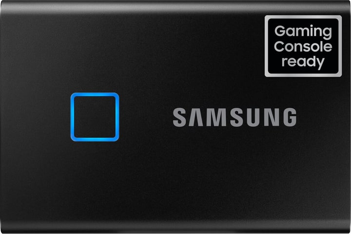 SSD T7 Touch portable 2TO nero Disque Dur Externe SSD Samsung 785300150219 Photo no. 1