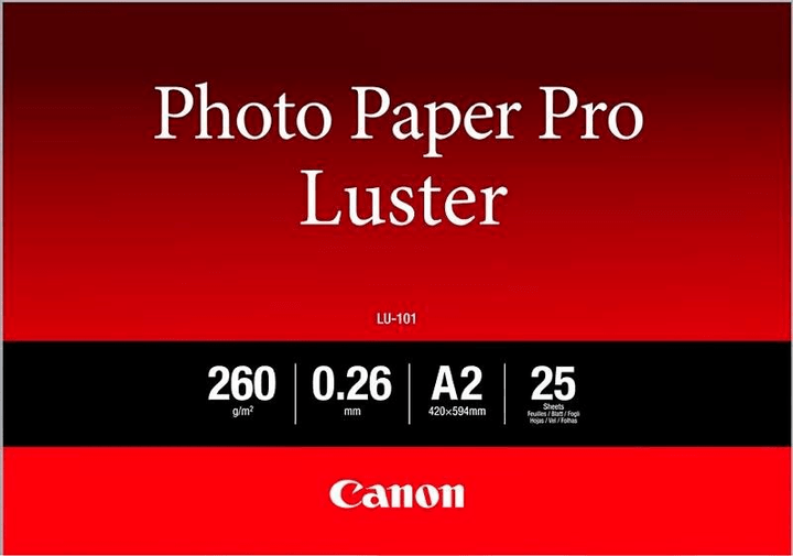 Photo Paper Pro Luster A2 LU-101 Canon 798533300000 Photo no. 1