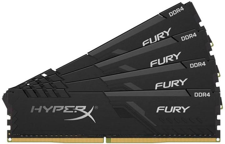 FURY DDR4-RAM 2666 MHz 4x 8 GB Mémoire HyperX 785300150095 Photo no. 1
