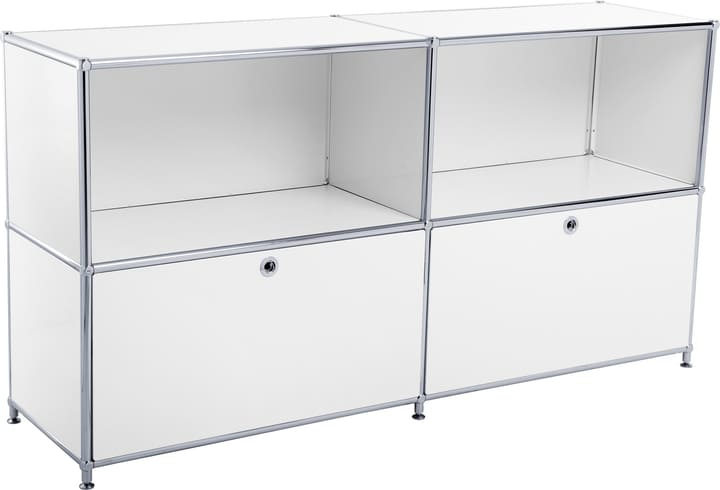 FLEXCUBE Buffet 401814020210 Dimensions L: 152.5 cm x P: 40.0 cm x H: 80.5 cm Couleur Blanc Photo no. 1