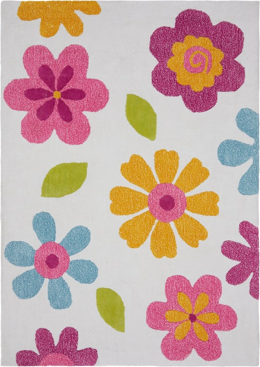 JILL Tapis 411987610492 Couleur multicouleur Dimensions L: 100.0 cm x P: 140.0 cm Photo no. 1