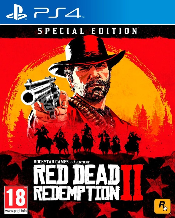 PS4 - Red Dead Redemption 2 - Special Edition (D) Box 785300139005 Langue Allemand Plate-forme Sony PlayStation 4 Photo no. 1