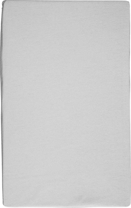 RAMON Drap-housse en jersey à fil retors 451048430381 Couleur Gris clair Dimensions L: 90.0 cm x H: 200.0 cm Photo no. 1