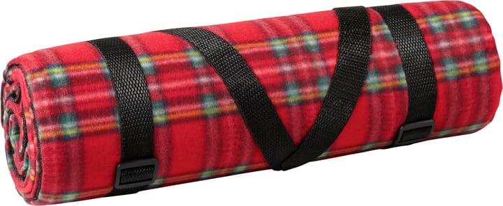 Couverture de camping, rouge, à carreaux 150x148cm Couverture de pique-nique Miocar 621473000000 Photo no. 1