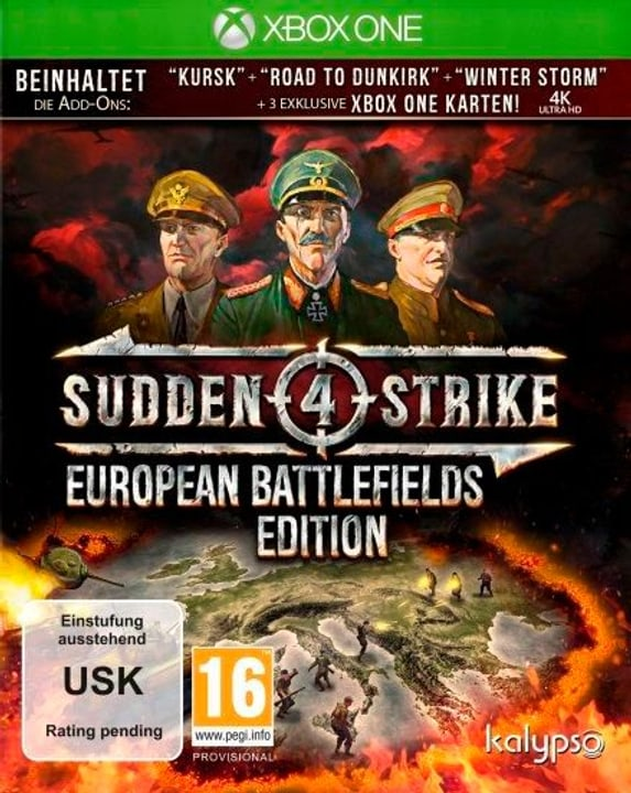Xbox One - Sudden Strike 4 European Battlefields Edition (D) Physisch (Box) 785300134847 Bild Nr. 1