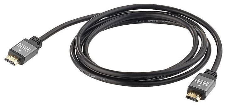 Cavo HDMI High Speed 4K 1.5m nero 9000031120 No. figura 1