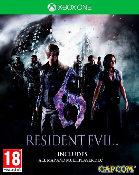 Xbox One - Resident Evil 6 HD 785300121880 Photo no. 1