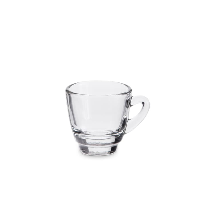 ESPRESSO Tazzina da espresso 393003501407 Dimensioni L: 7.0 cm x P: 5.0 cm x A: 6.0 cm Colore Trasparente N. figura 1