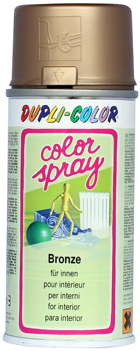 Color-Spray Dupli-Color 664882800000 Colore Bronzo N. figura 1