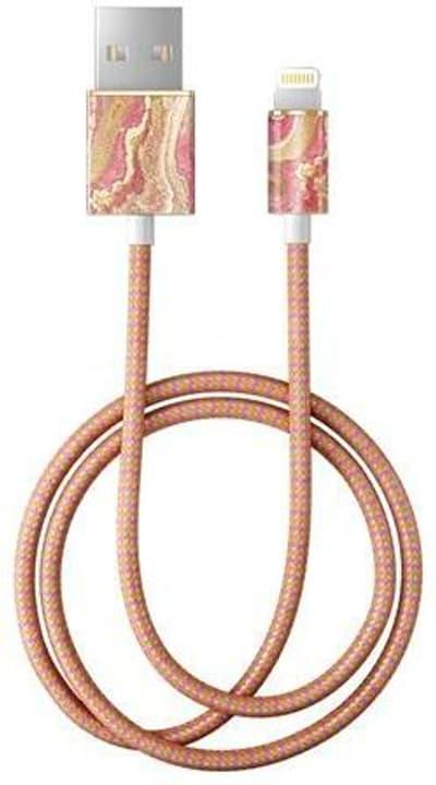 "Câble 1.0m, Lightning->USB  ""Golden Blush Marble"" Câble iDeal of Sweden 785300148096 Photo no. 1"