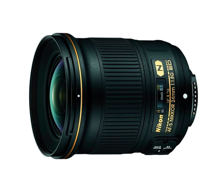 Nikkor AF-S 24mm/1.8G ED Objectif Nikon 785300125591 Photo no. 1