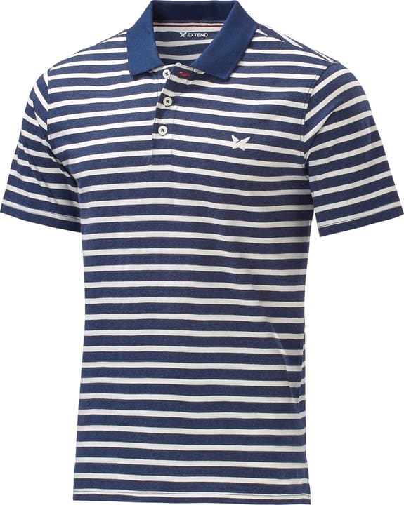 Poloshirt Herren-Poloshirt Extend 462387100643 Farbe marine Grösse XL Bild-Nr. 1
