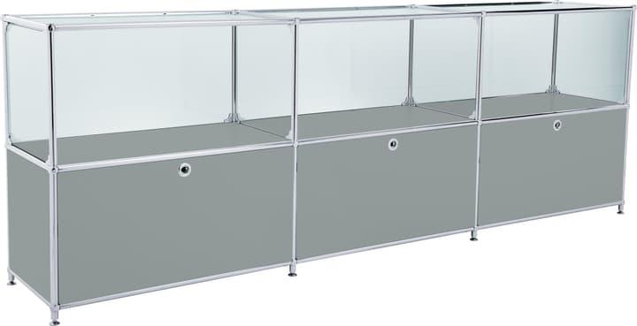FLEXCUBE Sideboard 401814530280 Grösse B: 227.0 cm x T: 40.0 cm x H: 80.5 cm Farbe Grau Bild Nr. 1