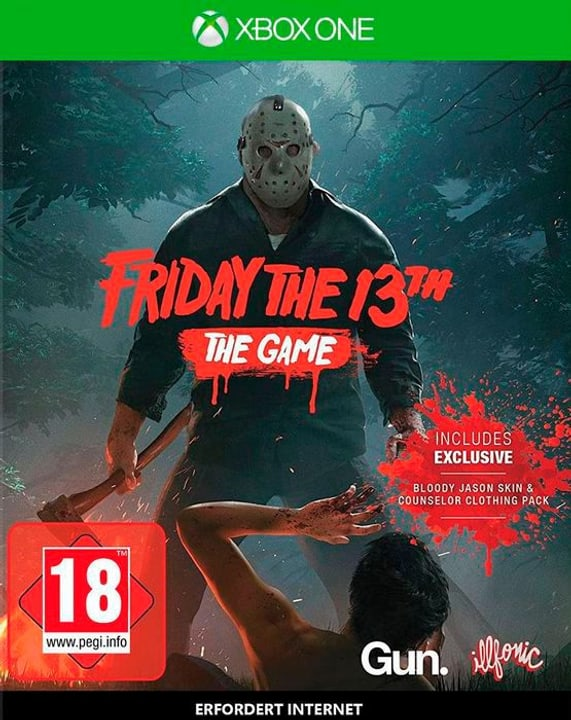 Friday the 13th [XONE] (E/d) Physique (Box) 785300130016 Photo no. 1