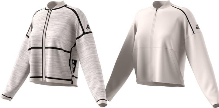 W Zone So Rev JK Damen-Jacke Adidas 462378500511 Farbe rohweiss Grösse L Bild-Nr. 1