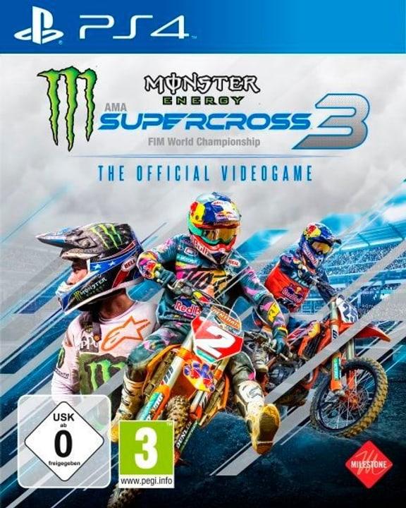 PS4 - Monster Energy Supercross 3 Box 785300150273 Photo no. 1