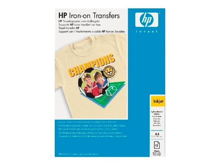 C6050A Papier IRON-ON T-Shirt HP 797417300000 Photo no. 1