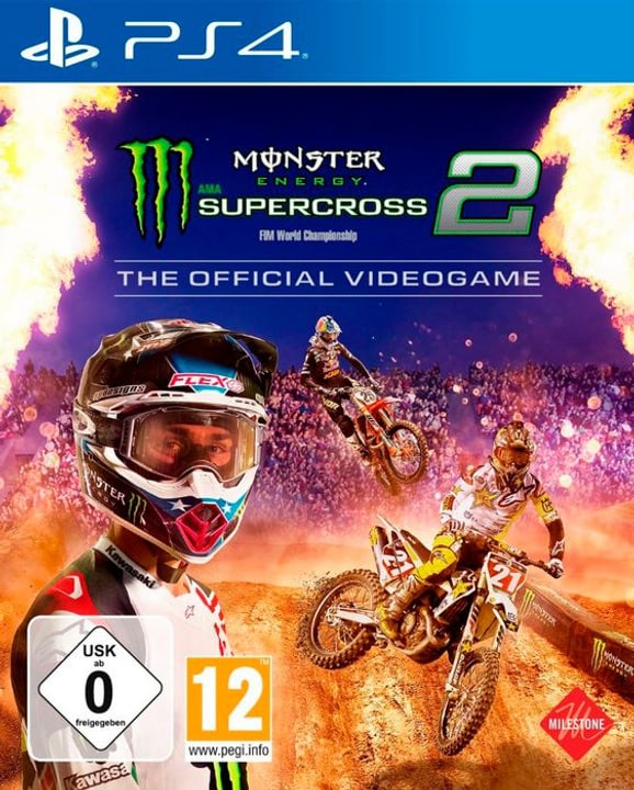 PS4 - Monster Energy Supercross - The Official Videogame 2 Box 785300140760 N. figura 1
