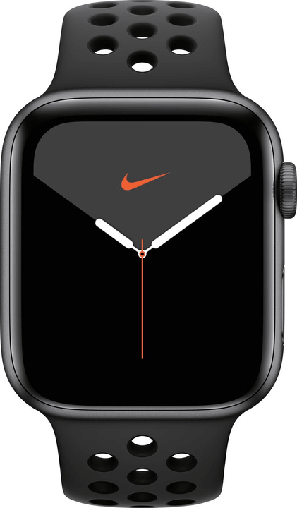 Watch Nike Series 5 LTE 44mm space gray Aluminium Anthracite Black Nike Sport Band Smartwatch Apple 785300146966 Photo no. 1