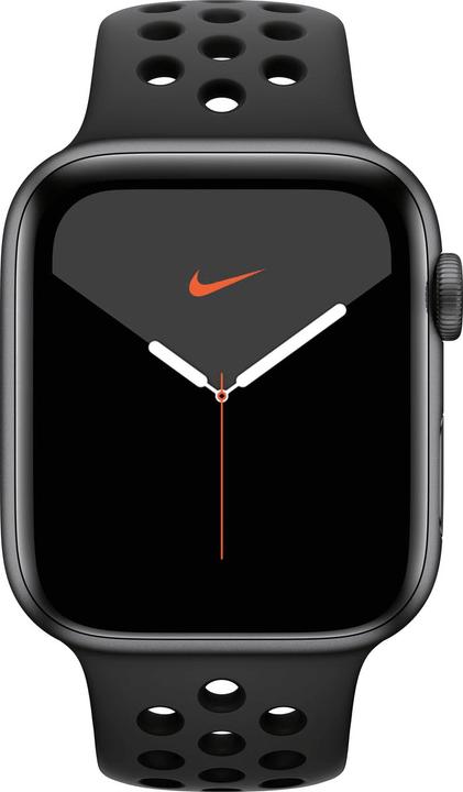 Watch Nike Series 5 LTE 44mm space gray Aluminium Anthracite Black Nike Sport Band Smartwatch Apple 785300146966 N. figura 1