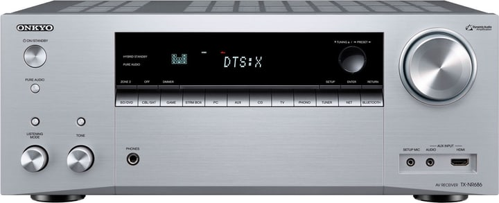 TX-NR686 - Silber AV-Receiver Onkyo 785300137698 N. figura 1