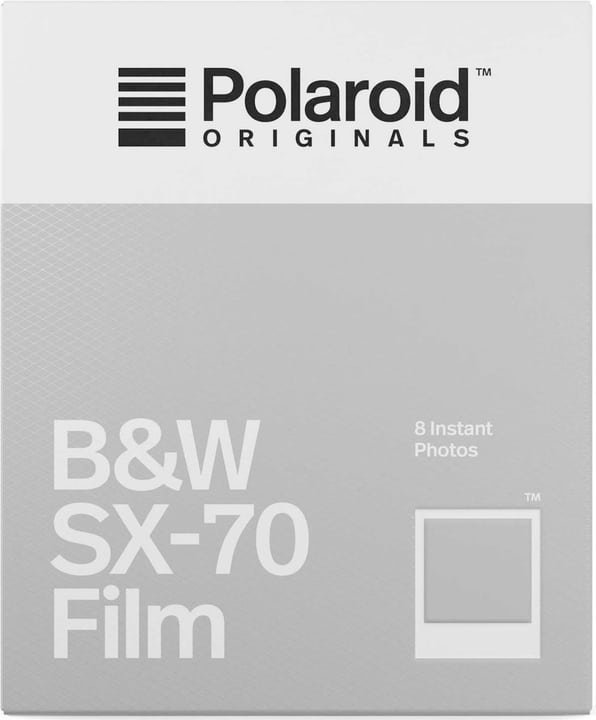 Polaroid Originals Film SX-70 B&W 8 Photos Film Polaroid 785300147157 Photo no. 1