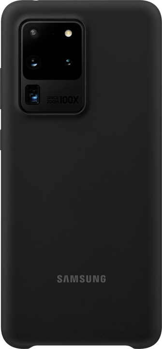 Silicone Cover black Hülle Samsung 798657400000 Bild Nr. 1
