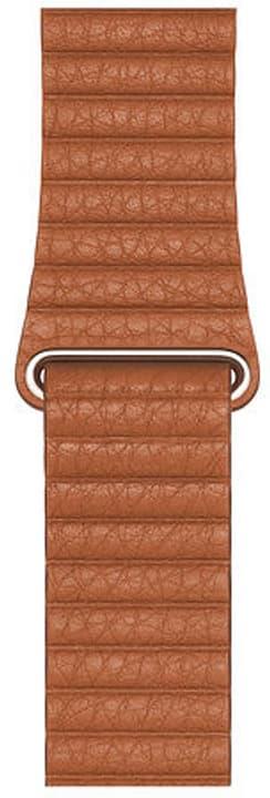 44mm Saddle Brown Leather Loop - M bracelet Apple 785300147594 Photo no. 1