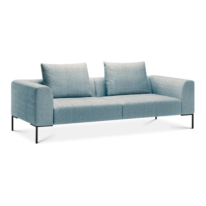 CATHIE 3er Sofa 366152230341 Farbe Hellblau Grösse B: 243.0 cm x T: 97.0 cm x H: 94.0 cm Bild Nr. 1