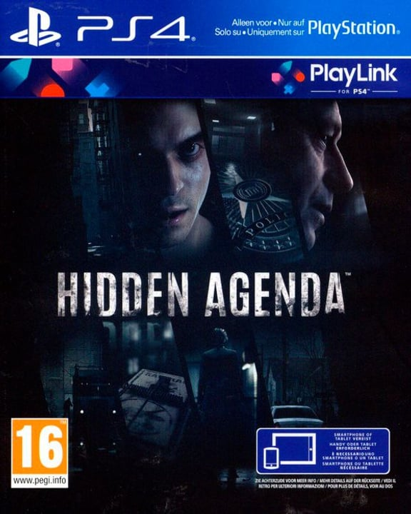 PS4 - Hidden Agenda Box 785300130184 N. figura 1