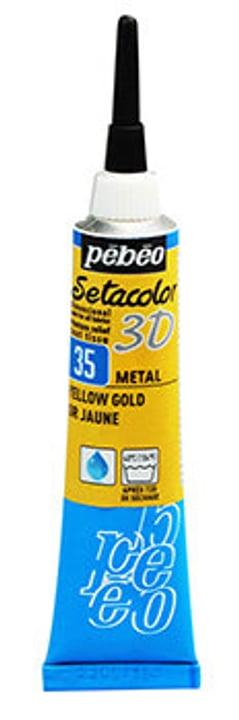 Sétacolor 3D 20ml Metal Pebeo 665469400000 Colore Oro Giallo N. figura 1