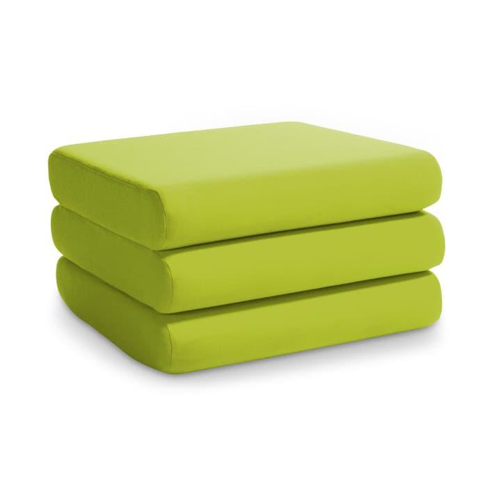 DORMO pouf 360013025504 Dimensions L: 65.0 cm x P: 65.0 cm x H: 36.0 cm Couleur Vert clair Photo no. 1
