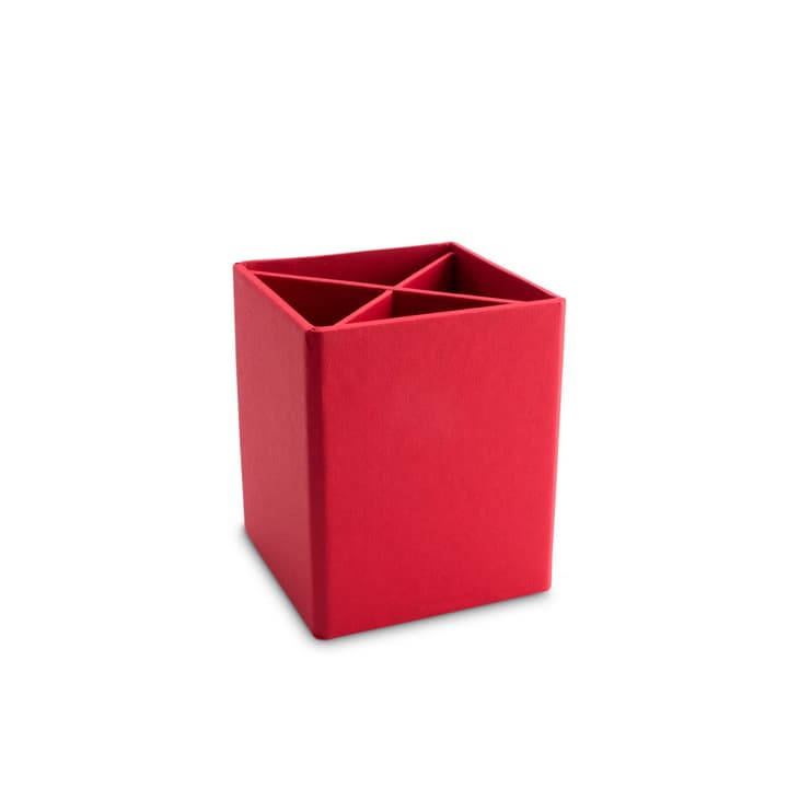 BIGSO CLASSIC Portacancelleria 386060700000 Dimensioni L: 11.5 cm x P: 11.5 cm x A: 10.0 cm Colore Rosso N. figura 1