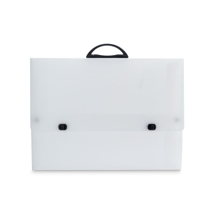 CASE serviettes porte-documents 386018702400 Dimensions L: 53.0 cm x P: 40.0 cm x H: 3.0 cm Couleur Blanc Photo no. 1