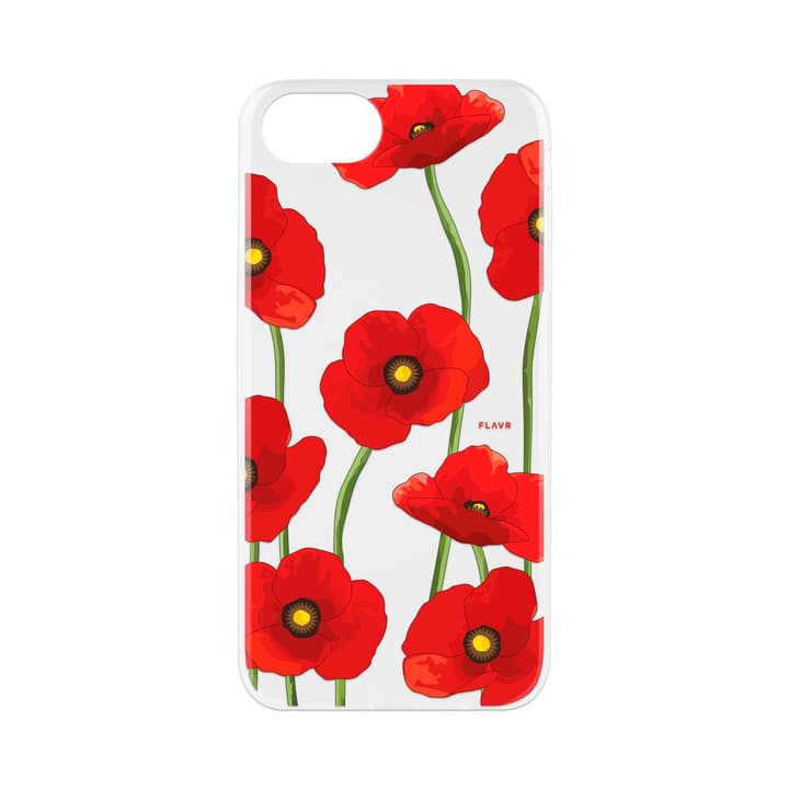 Flavr iPlate Poppy Colourful Hülle XQISIT 798085900000 Bild Nr. 1