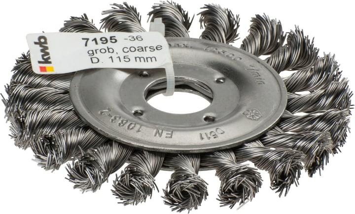 AGGRESSO-FLEX ® Spazzola a disco, ø 115 mm kwb 610523400000 N. figura 1