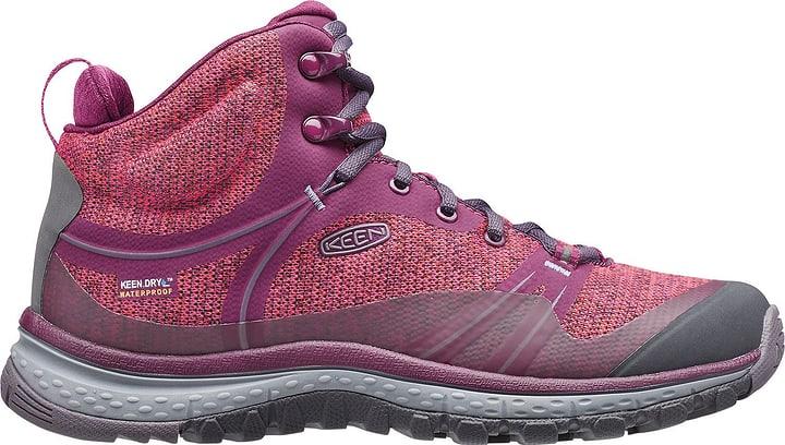 Terradora Mid WP Chaussures de randonnée pour femme Keen 460888135045 Couleur violet Taille 35 Photo no. 1