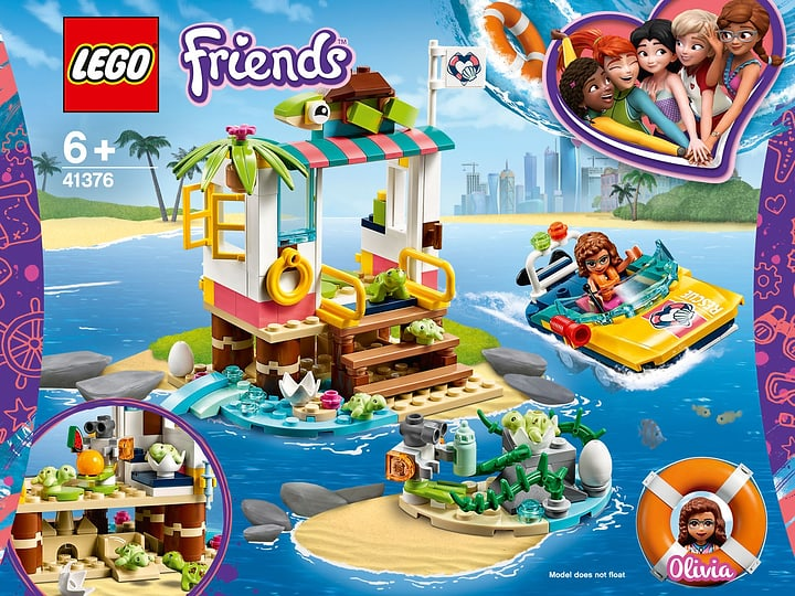LEGO FRIENDS 41376 La mission de sa 748718900000 Photo no. 1