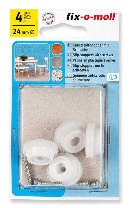 Patins en plastique 15 mm / Ø 24 mm 4 x Fix-O-Moll 607085300000 Photo no. 1