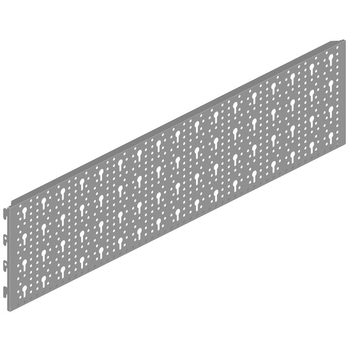Lochwand 800 x 200 mm weissalu ELEMENTSYSTEM 603465800000 Bild Nr. 1