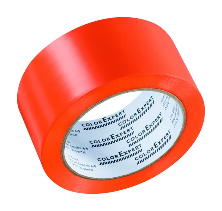 PVC Band glatt orang 50mm x 33m Color Expert 661614100000 Bild Nr. 1