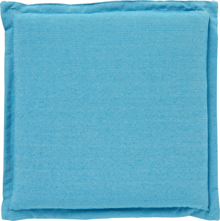 ALEJANDRO Coussin siege 450742304044 Couleur Turquoise Dimensions L: 40.0 cm x P: 40.0 cm x H: 4.0 cm Photo no. 1