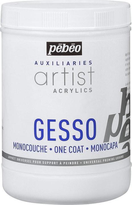 Acrylic Gesso 1l Pebeo 663510400000 Contenuto 1L N. figura 1