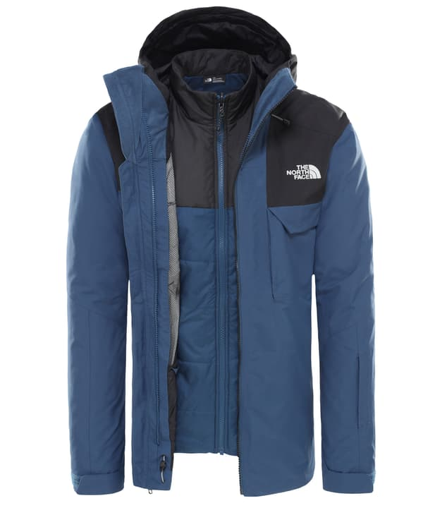 Fourbarrel Triclimate Giacca da sci da donna The North Face 460359400340 Colore blu Taglie S N. figura 1
